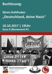 Deutschland deine Nazis @ Hörsaal H1 - Haus Bauwesen | Berlin | Berlin | Deutschland
