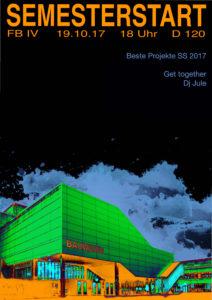 Semesterstartparty @ E00 (Ausstellungsfläche bei der Pförtner*innen Loge | Berlin | Berlin | Deutschland